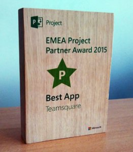 EMEA Project Partner Award 2015