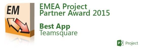 EMEA Project Partner Award 2015